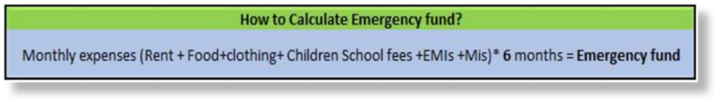 How to Calculate Emergency Funds