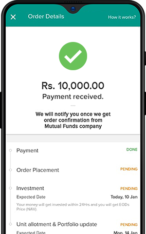 upi payment successful